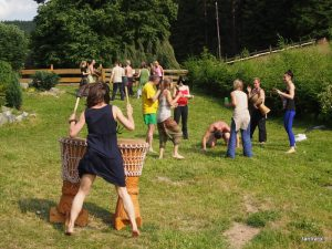 "Shamanic workshop ""Hero's Journey"", July 2015, Nowa Morawa, Poland"