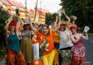 Samba parade and concert