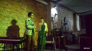 Концерт французской песни, Юлия Миколайчак и Майяквен Вишневски, октябрь, 2017, Клуб Strefa, Краков