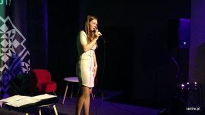 Koncert piosenki francuskiej, Julia Mikołajczak & Mayaquen Wiśniewski, październik 2017, Klub Strefa, Kraków