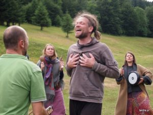"""Hero's Journey"" shamanic workshop, July 2019, Nowa Morawa, Poland"
